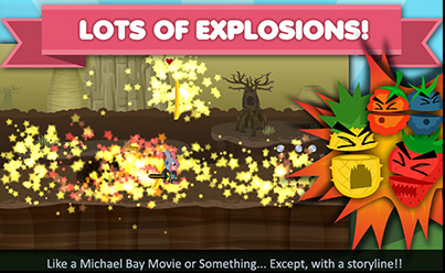 Lots of Explosions!